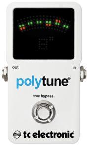 pedale accordage tc electronic polytene